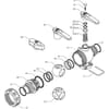 Spare parts for 455 . 443 . . ( 3-way) - Arag