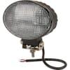 Work light LED, 36W, 2760lm, oval, 10/30V, 144x85x96mm, Flood, 12 LED's, Kramp