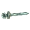 DIN 7976NEO hexagonal self-tapping screw with neoprene ring, zinc-plated