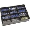 Crimp connectors assortment - blue