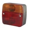 Rear light square, 12/24V, 100x50x95mm, gopart