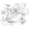 Karosserie für Castelgarden TYP F72-F72 Hydro - Baujahr 2004