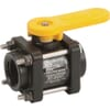 Banjo 2-way ball valve - 4 bolt construction - female