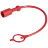 Dust plug red for HNV-M 1/4""