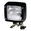 Work light Halogen, 65W, square, 12V, transparent, 112x103x151mm AMP plug, Ultrabeam by Hella