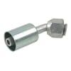 Swage coupling Nr. 8 45° Aluminium