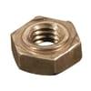 DIN 929 hexagonal weld nuts, metric black