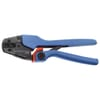 Production crimping pliers for cable terminals