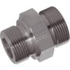 Male stud adaptor less nut GES-Metric