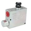 3 way flow control valves with check valve and built in relief valve type VPR-3-ET-VMP-RL-ST
