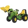 R65107 John Deere 8400R X-Trac with front loader and brake