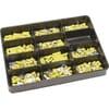 Crimp connectors assortment - yellow