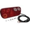 Rear light LH LED, rectangular, 12/24V, 315x32x145mm, Kramp