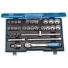 """D 19 XMAU-20 socket set 1/2"""" 31-piece"""