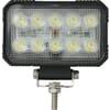Work light LED, 15W, 1900lm, rectangular, 10/30V, 150x37x100mm, Flood, 10 LED's, Kramp