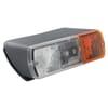 Marker light rectangular, 24V, white/amber, bolt on, 200x85x85mm, Britax