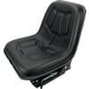 PVC seat, mechanically sprung TS49100GP