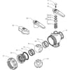 Spare parts for 455 . 111 . . ( 3-way) - Arag