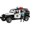 U02526 Jeep Wrangler, Polizeifahrzeug mit Polizist