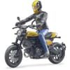 U63053 Scrambler Ducati with driver
