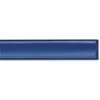 PVC persslang plat oprolbaar blauw
