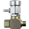 Manual decompression valve