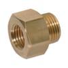 Reducing Adaptor female/male Brass M14x1.5-3/8 18NPTF