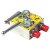 Three point hitch hydraulic valve