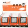 Work light LED 12pc kit, 24W, 1920lm, 10-30V, 110x45x110mm, Flood, gopart