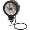 Work light LED, 25W, 2000lm, round, 10/30V, Ø 117mm, Flood, 6 LED's, Kramp