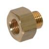 Reducing Adaptor female/male Brass 1/4 18NPTF-M14x1.5