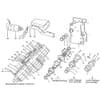 Becker Aeromat E-motion-12 - Débrayage individuel des rangs électromagnétique