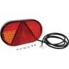 Rear light LH LED, rectangular, 12/24V, 254x31x153mm, Kramp