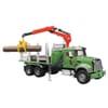 U02824 Mack Granite Houttransportwagen