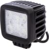Work light LED, 42W, 3780lm, square, 10/30V, 100x82x100mm, Flood, 6 LED's, Kramp