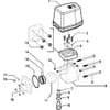 Spare parts for 453705 X 66 T ( 2-way, electrical) - Arag