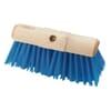 "Scavenger Broom 13"" Polypropylene Head - Blue"