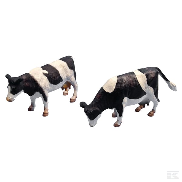 Kids Globe 8 Friesian Cattle
