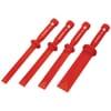 CR.D plastic chisel set, 4-part