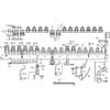 Doppelmesserbalken 1,20 / 1,40m altes System für Innenschuh