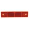 Reflector rechthoekig rood opschroefbaar Hella