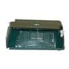 Number plate light 5W, rectangular, 12/24V, white, bolt on, 83x33mm, Blade terminal, Hella