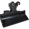 Bac pour fosses hydrauliqes CW-Accouplement rapide