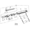 13 Réglage hydraulique de l'arbre transversal HSWT, HSWS