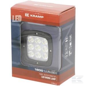 Kramp LED-Arbeitsscheinwerfer 42W 3780lm Flutlicht LA10028