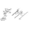 Mähbalken und Messer BM 1106 Einzelteile