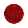 Round reflector, red, self-adhesive, Britax