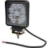 Work light LED, 27W, 2376lm, square, 10-30V, 109x41x109mm, Flood, Kramp