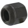 DIN 74361A domed nuts, metric fine class 10 black