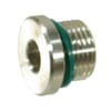 Stainless steel end plug BSP - VS-R..RVS